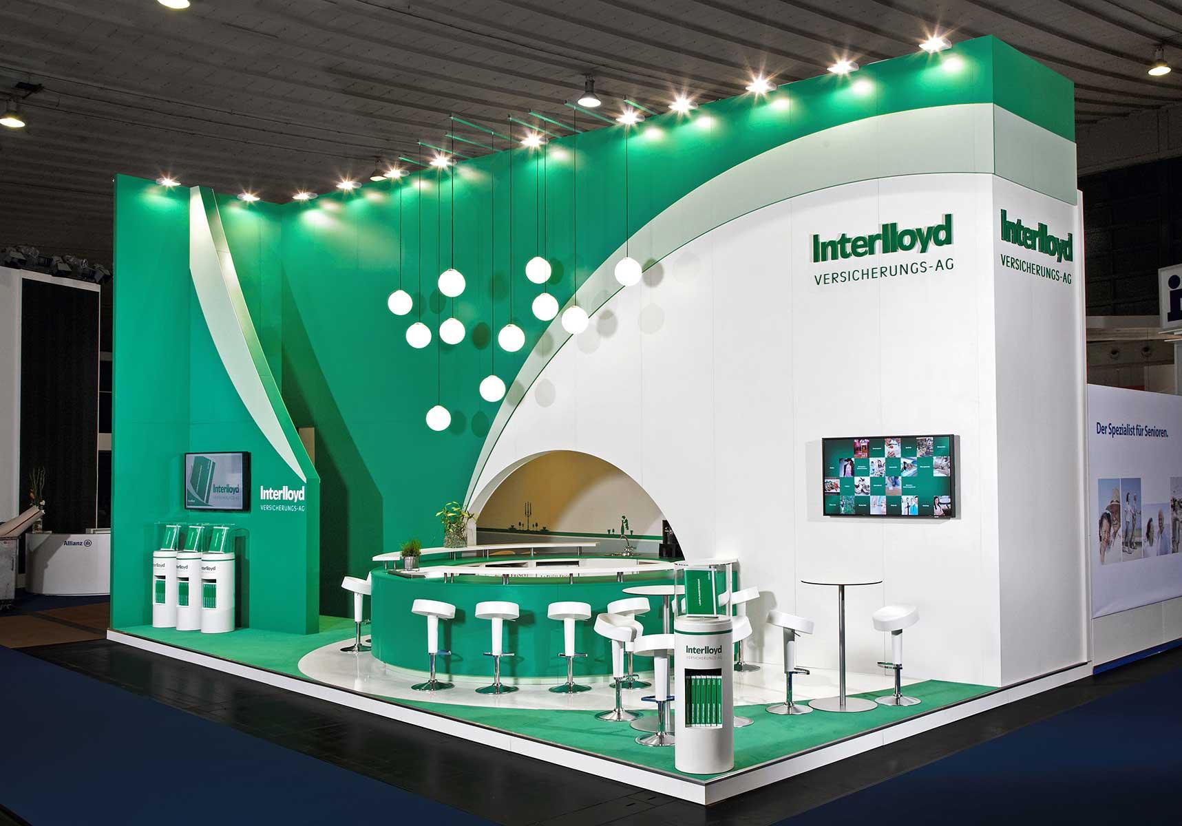 Exhibition Stand Insurance : Interlloyd blickfang messebau gmbh