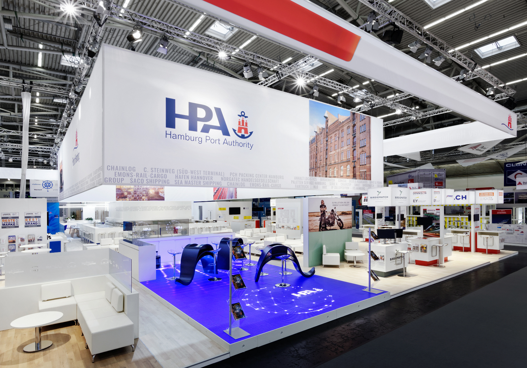Messestand Hafen Hamburg 10