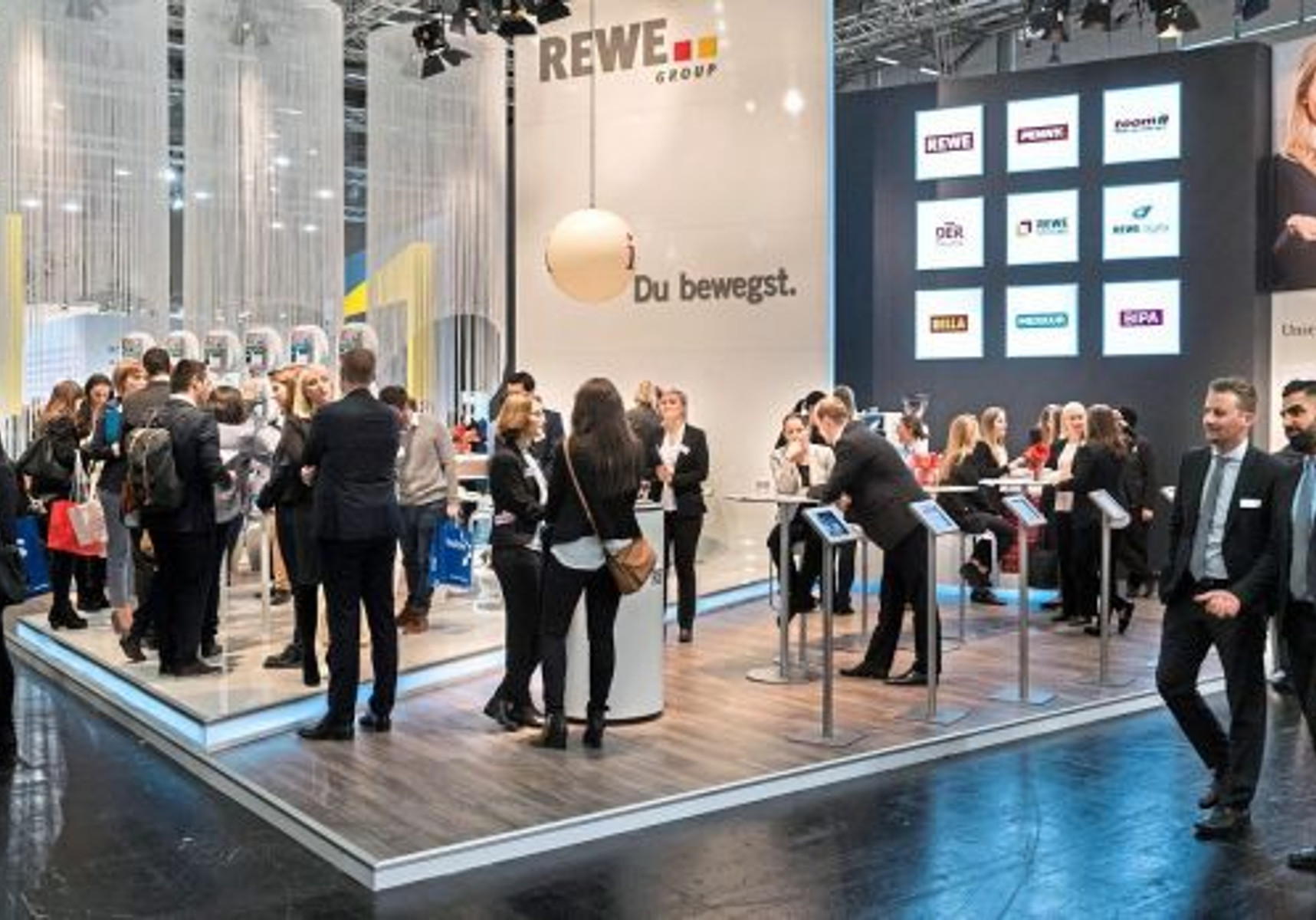 REWE Messestand - Absolventen Messe