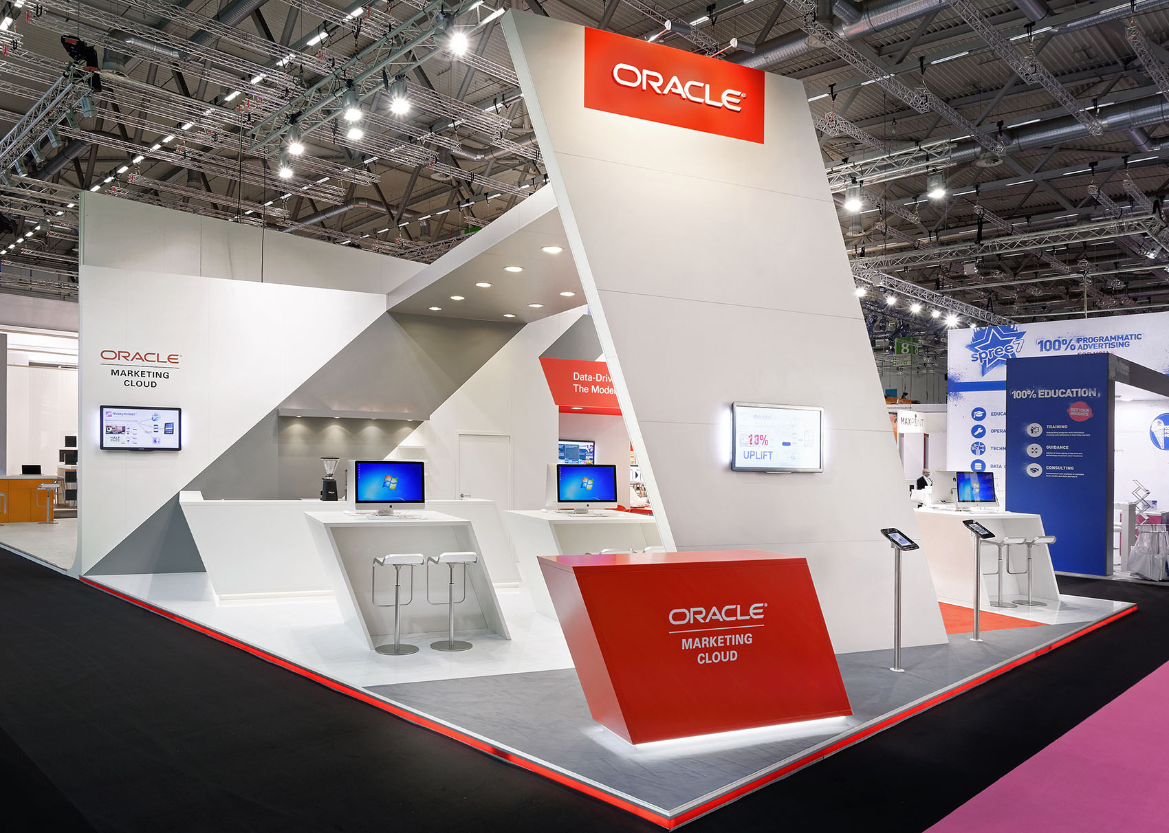 Simple Exhibition Stand Near Me : Oracle blickfang messebau gmbh