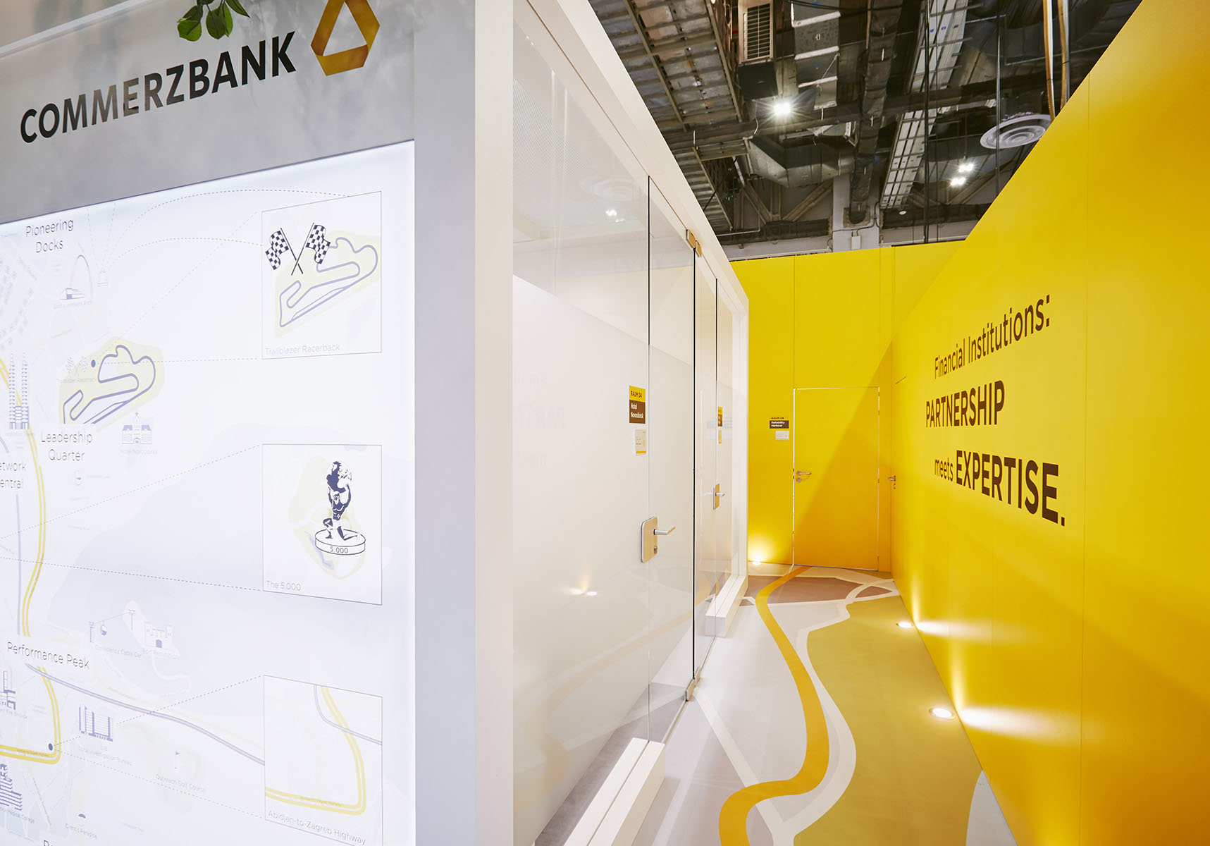 Commerzbank Messestand Sibos Singapur 2