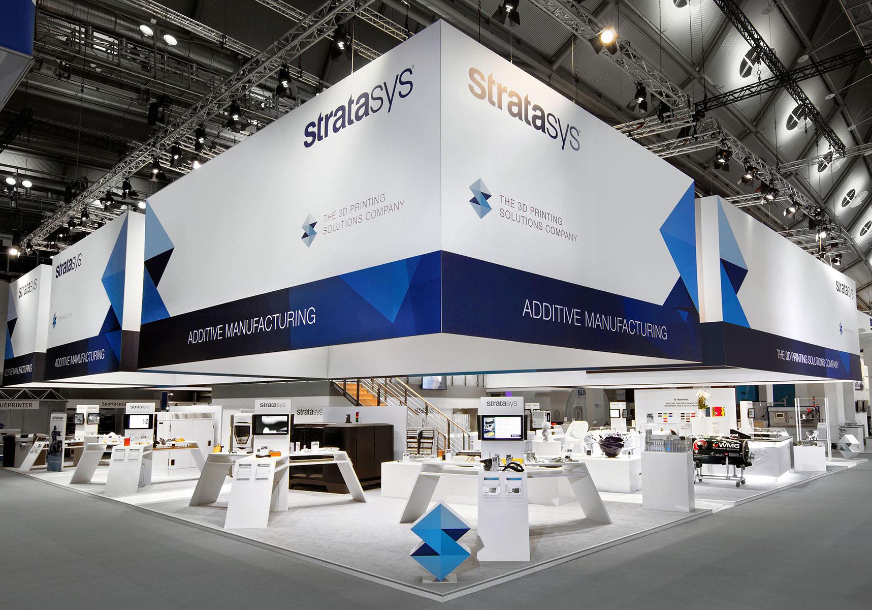 Stratasys Messestand Formnext Frankfurt 10