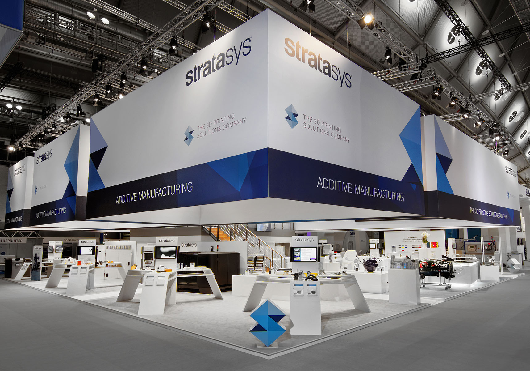 Stratasys Messestand Formnext Frankfurt 3