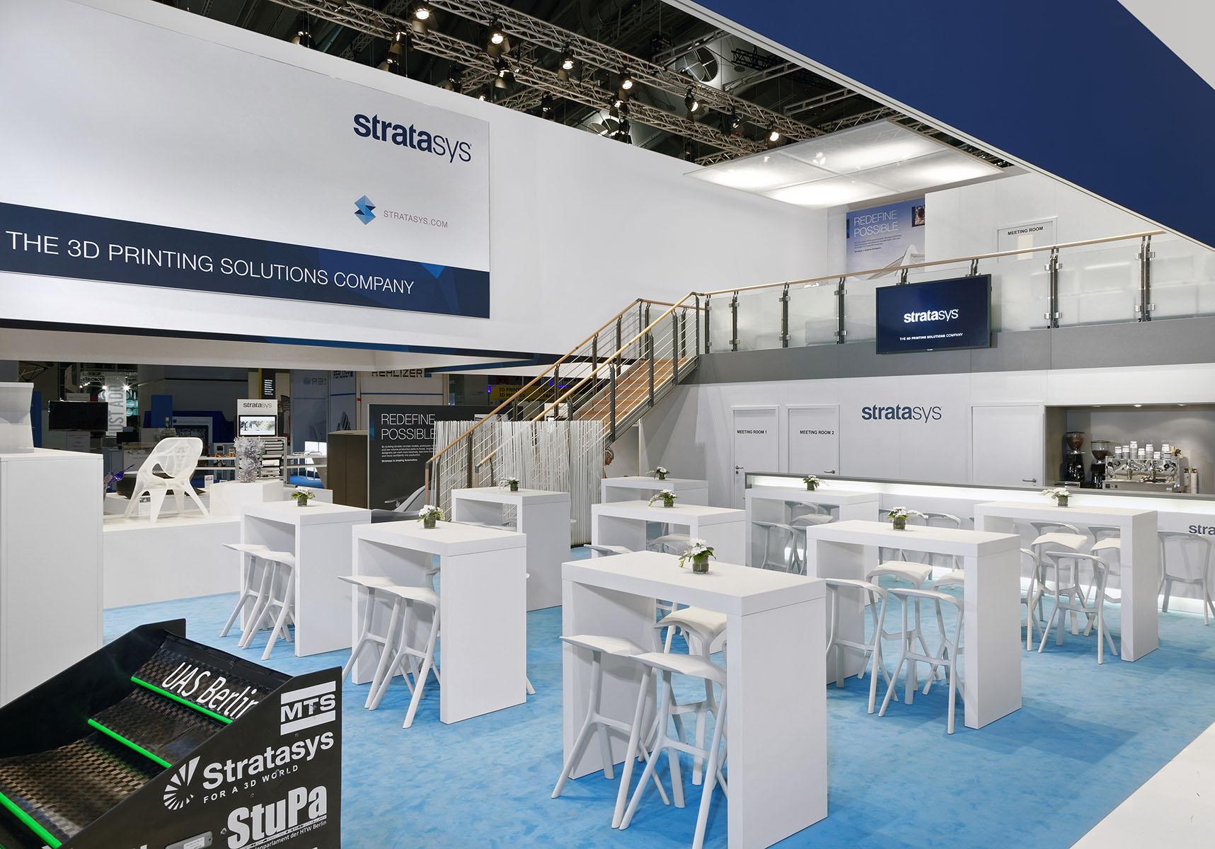 Stratasys Messestand Formnext Frankfurt 4