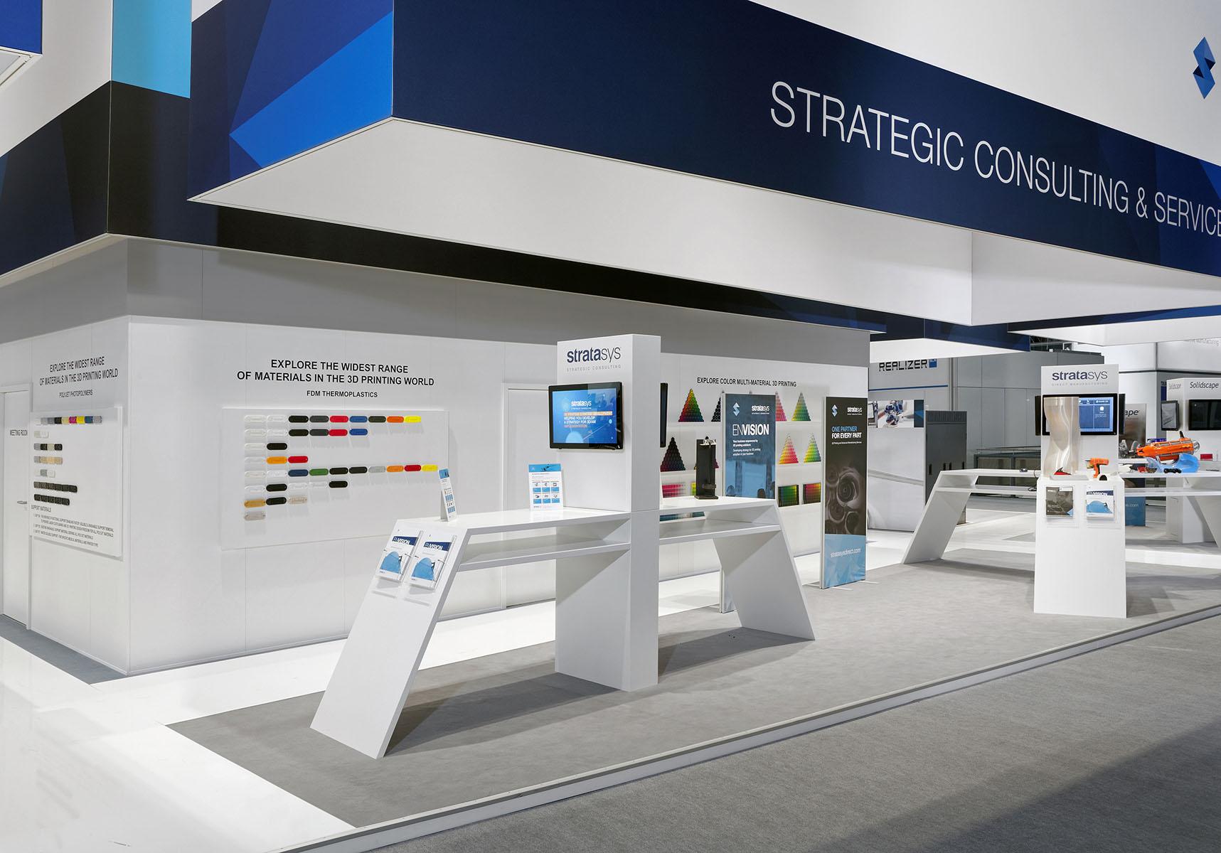 Stratasys Messestand Formnext Frankfurt 6