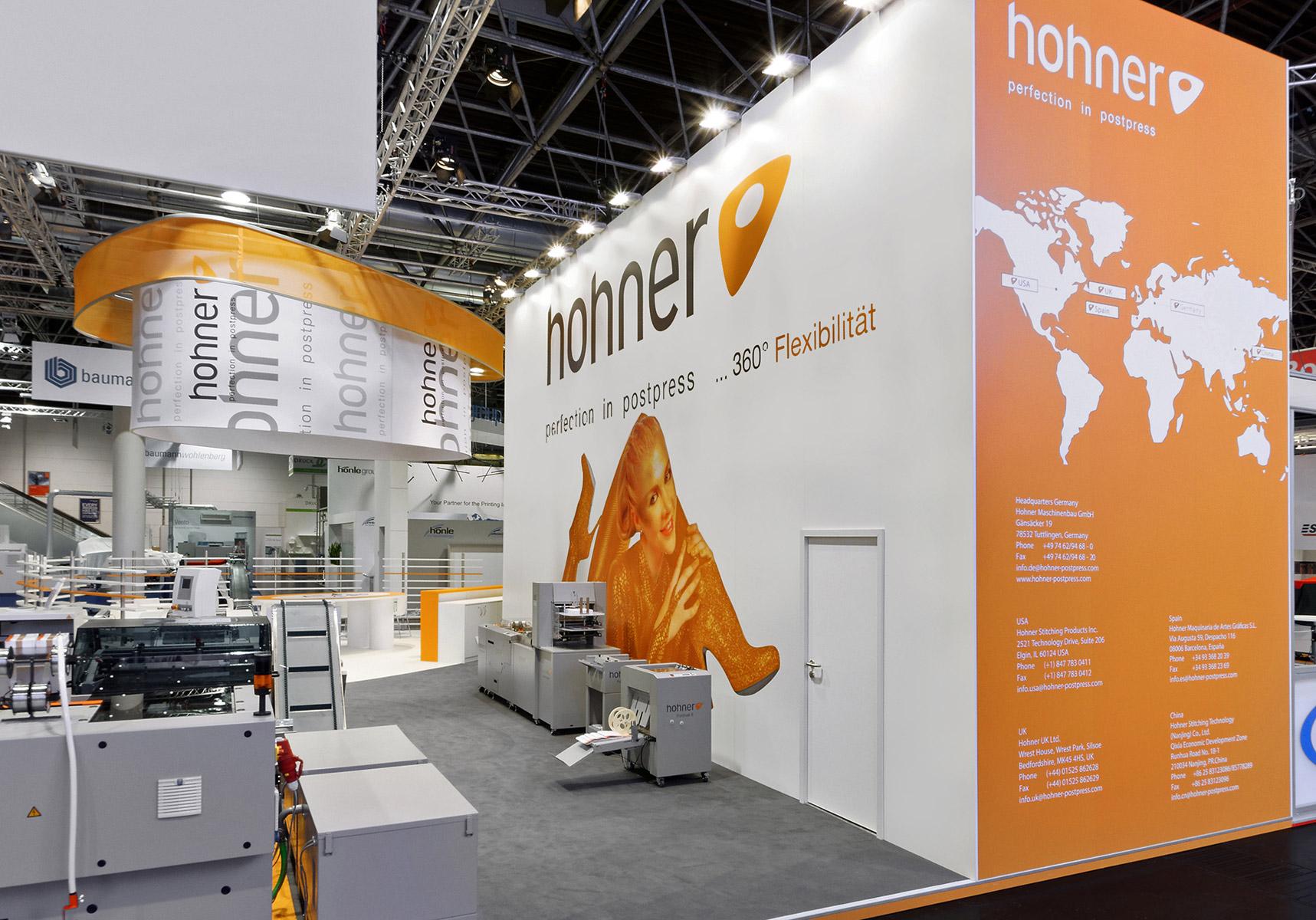 Hohner Messestand Drupa Düsseldorf 7