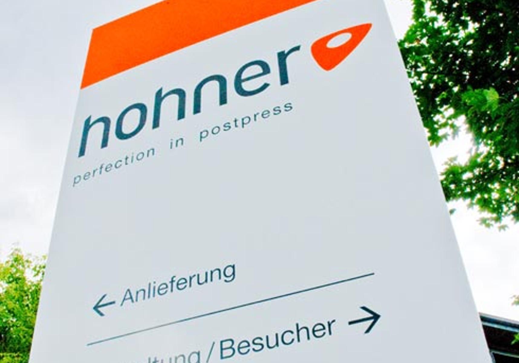 Hohner Messestand Drupa Düsseldorf Unternehmen