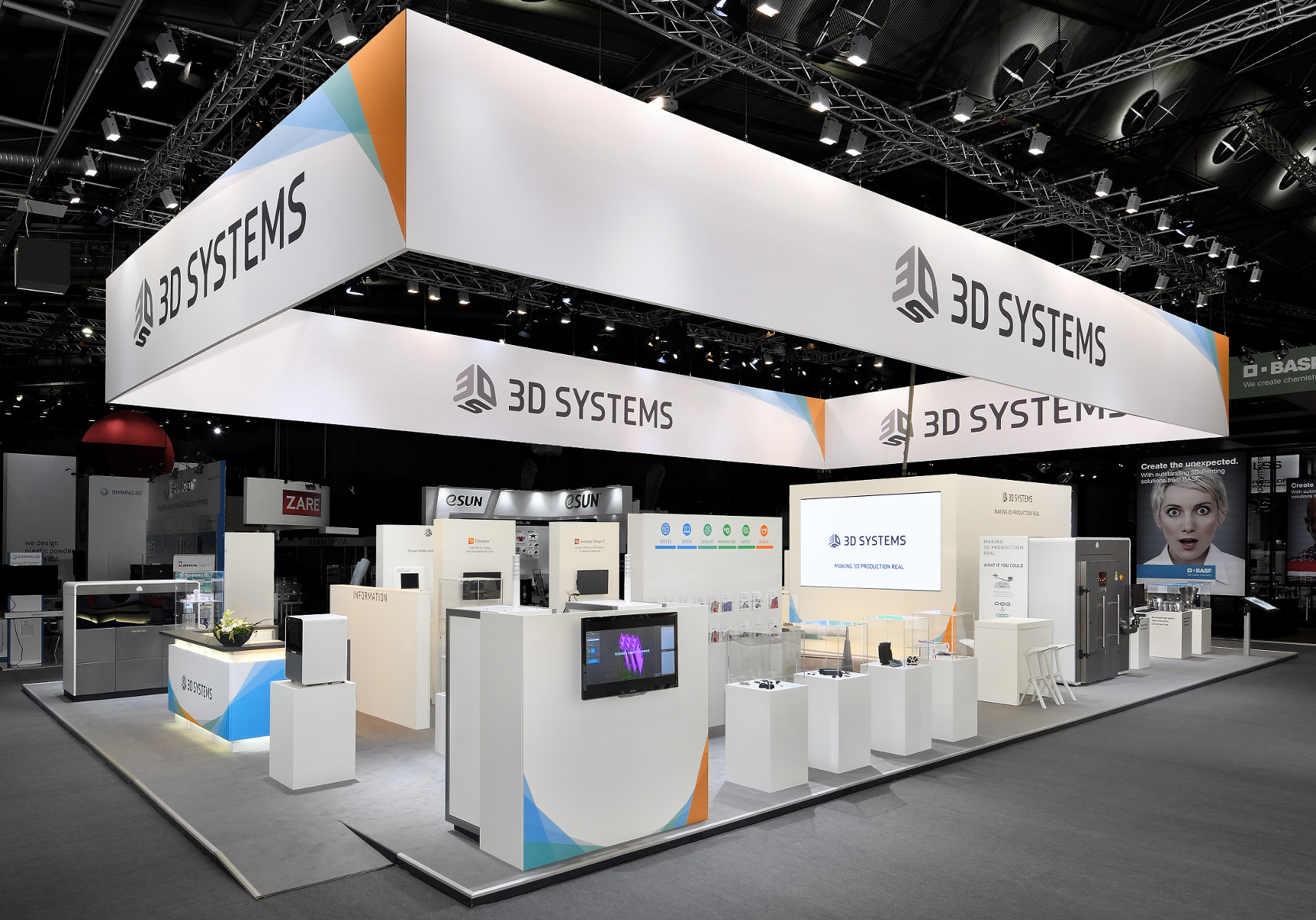 3D Systems Formnext Messestand 1