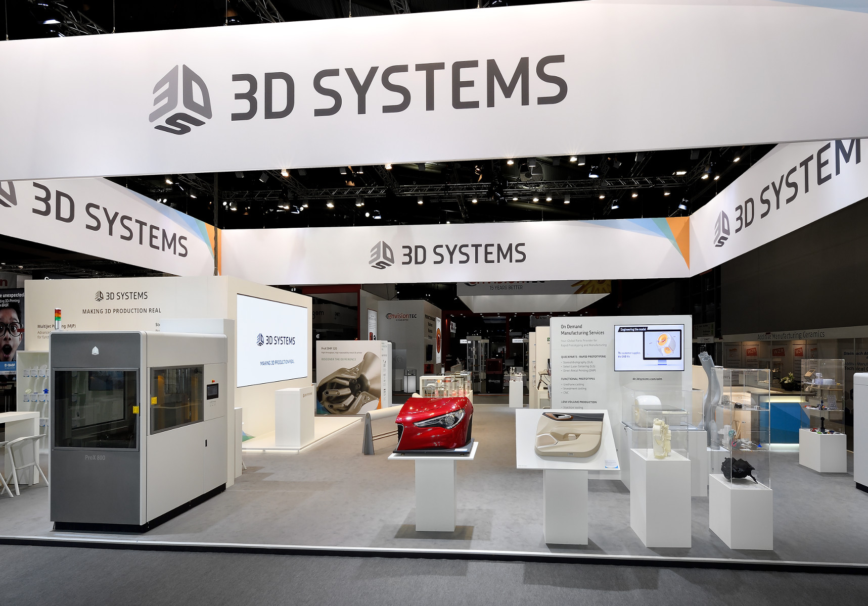 3D Systems Formnext Messestand 3