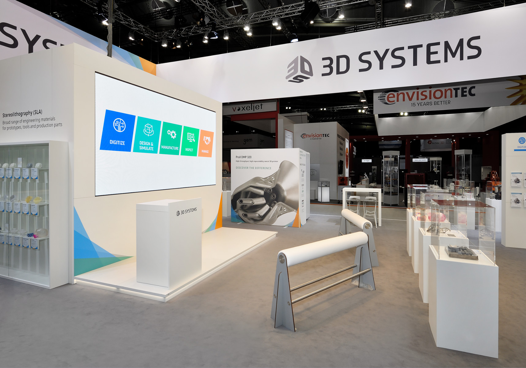 3D Systems Formnext Messestand 4