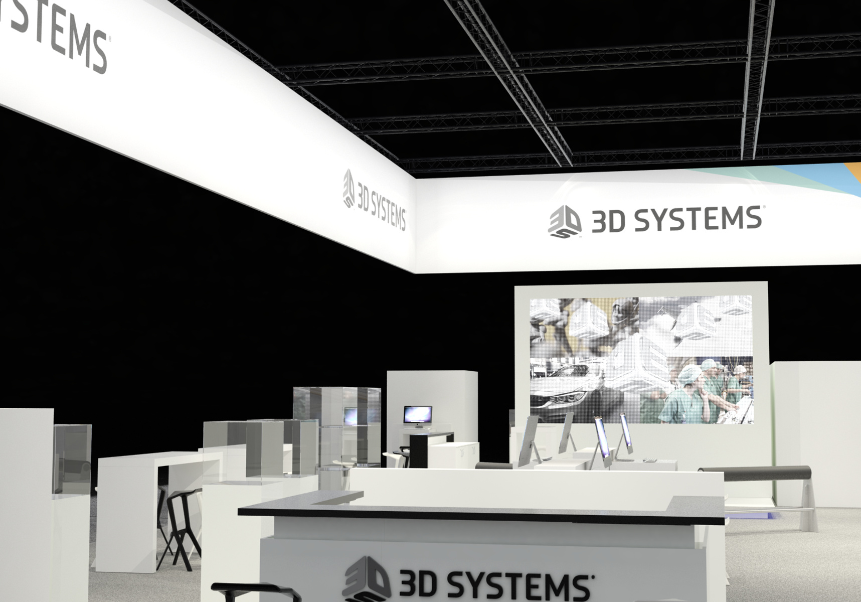 3D Systems Formnext Visualisierung 3